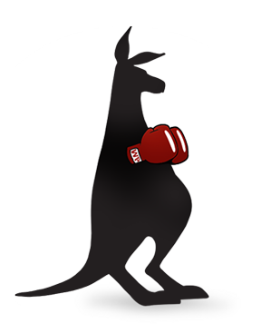 WebPunch kangaroo knocking out the competition